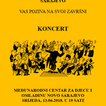 Završni koncert orkestra škole